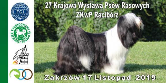 27 Krajowa Wystawa Psów Rasowych ZKwP Racibórz w Zakrzowie